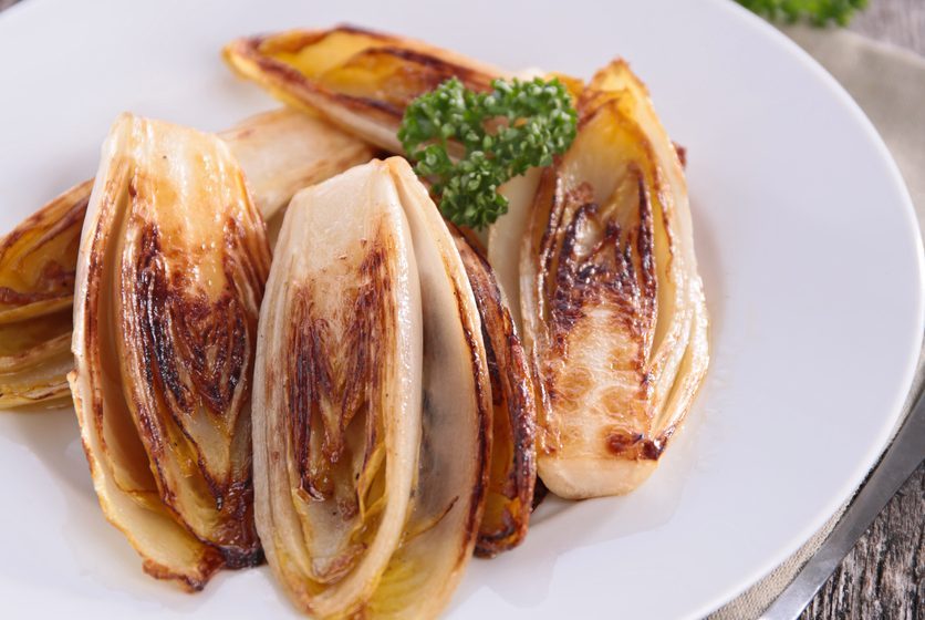 Grilled Endive with Sage Vinaigrette