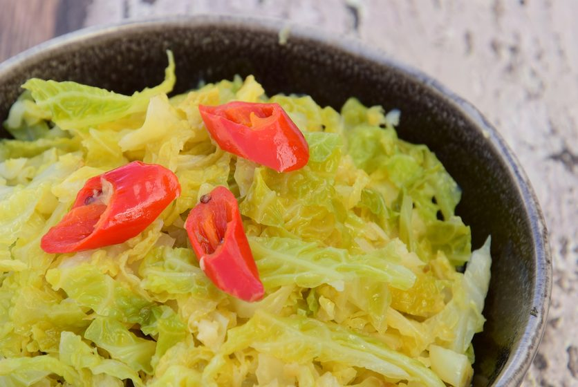 Simplest Sauteed Cabbage